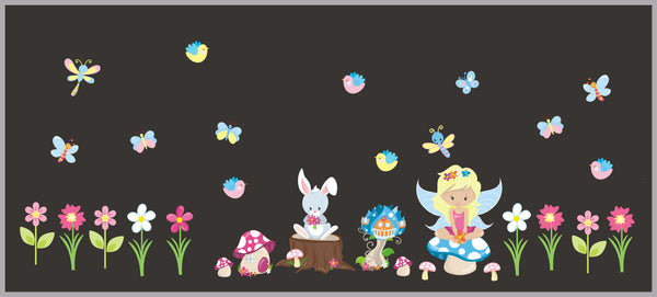 Fairy Fantasy Decals Girls