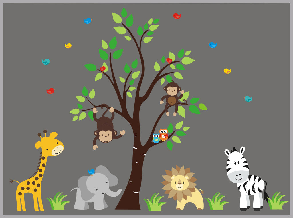 Jungle Baby Decals