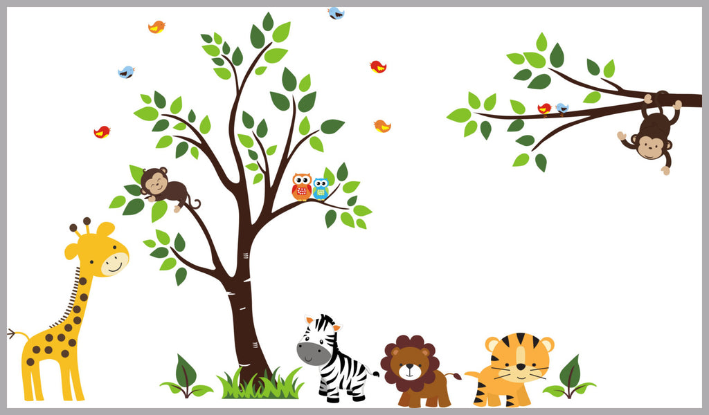 Jungle Kids Decals
