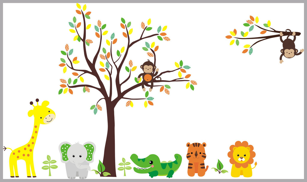 Jungle Nursery Decals