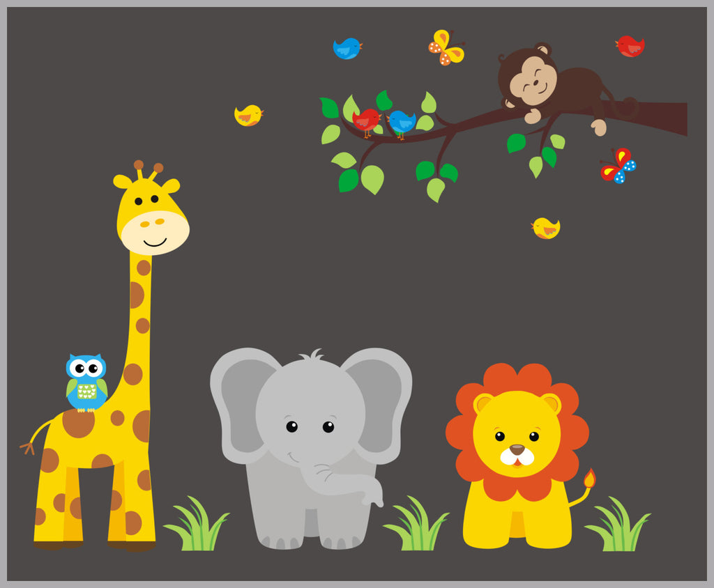 Jungle Nursery Decor
