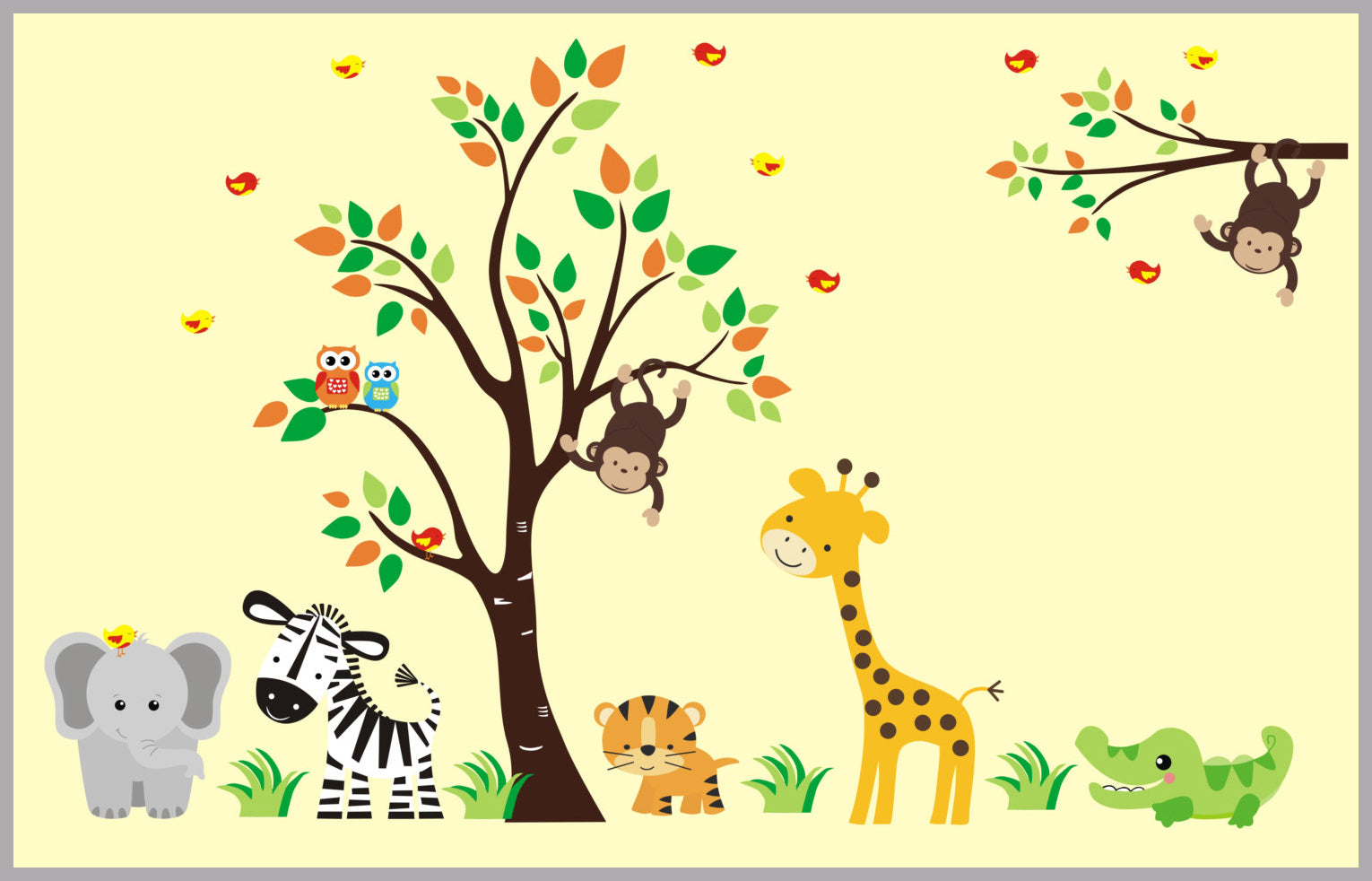 Nursery Room Decorations | Nursery Wall Decal | Nursery Design ...