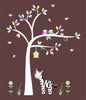 Birdhouse Flowers Nursery Decals