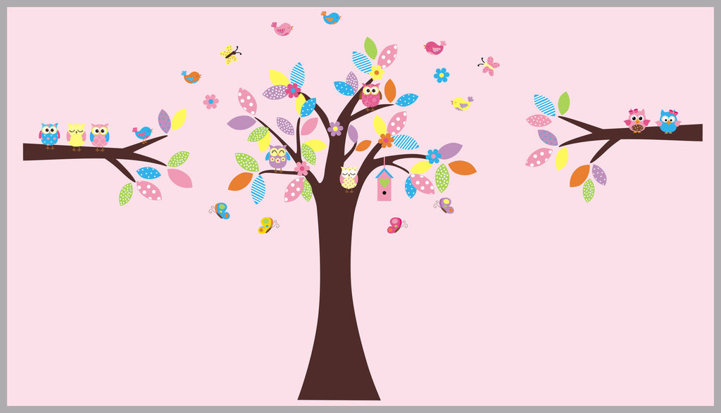 Large Tree Baby Decals