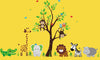 Cute Safari Animal Wall Decals