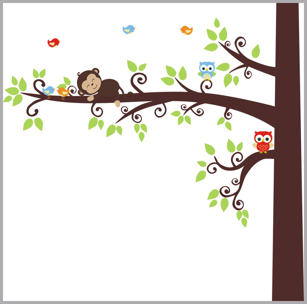 Large Tree Decal Baby Room