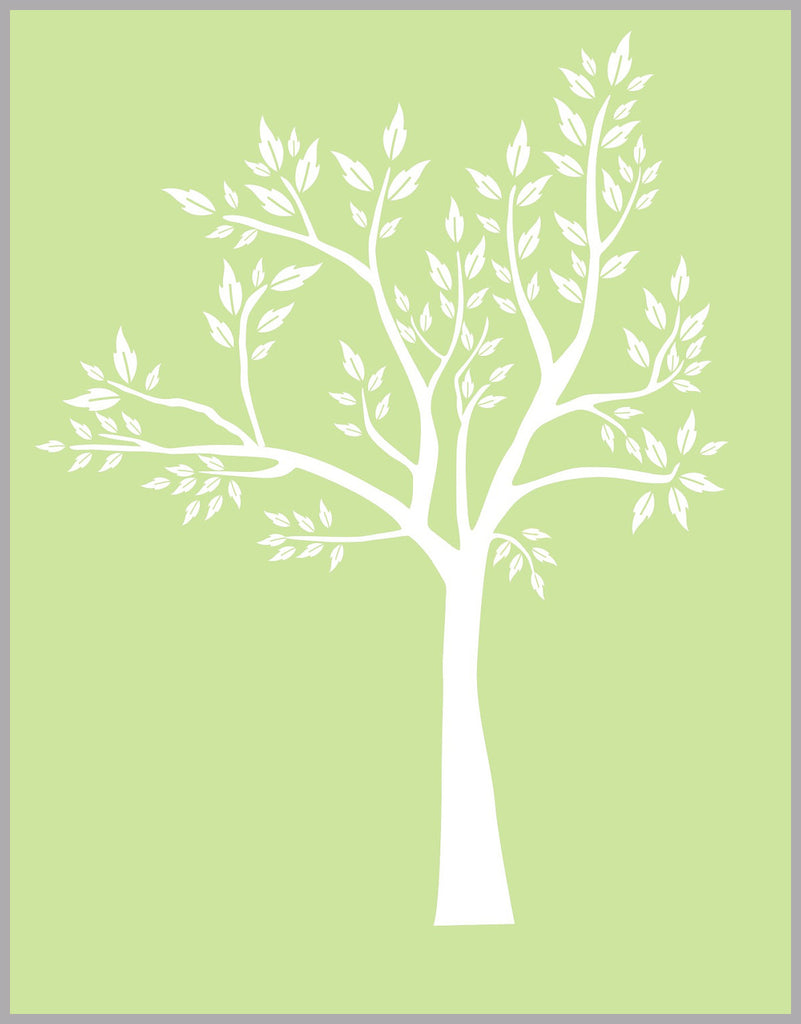 White Tree Nursery Sticker