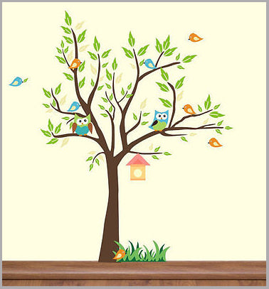 Large Tree Stickers Baby Room