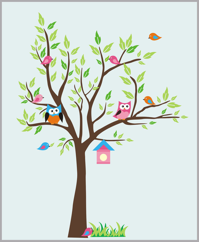 Tree Sticker Kids Room