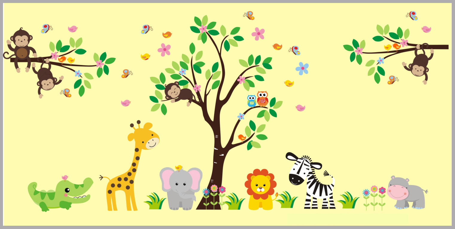 Baby Room Wall Decals | Kids Room Wall Decals | Childrens Wall ...