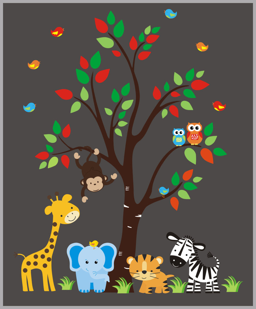 Nursery Vinyl Decals