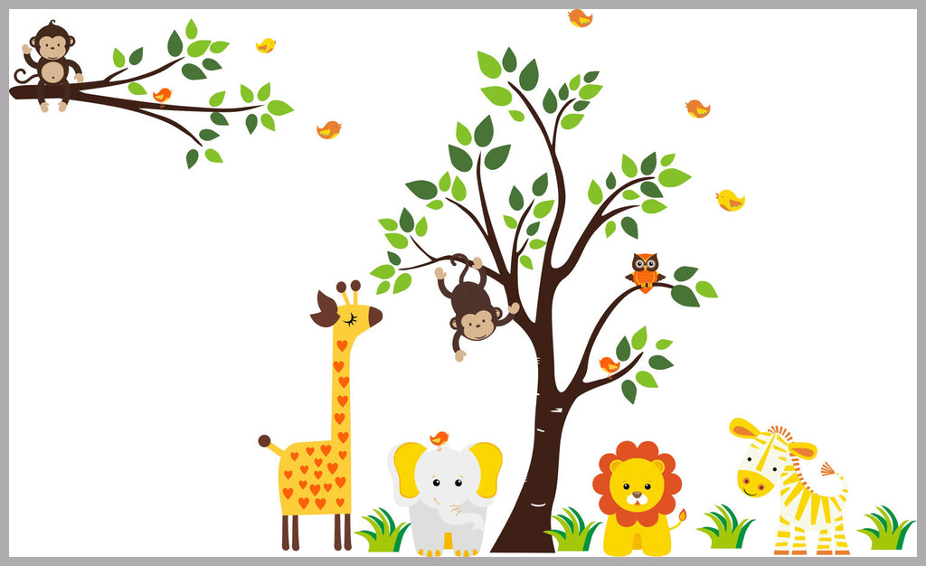 Orange Nursery Design