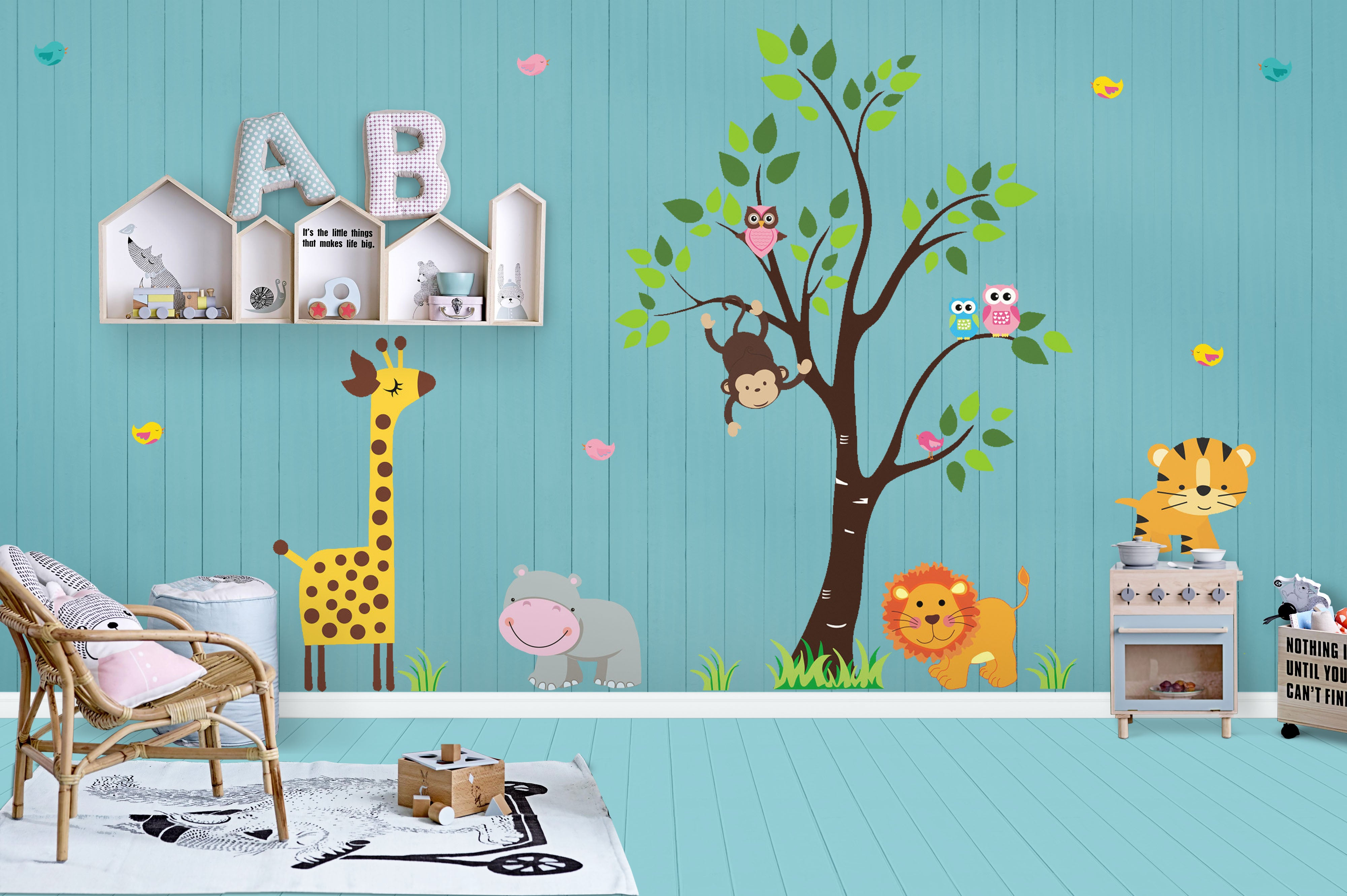 0e0db0bb2c366 Wall Decals for Kids | Baby Wall Decals | Baby Room Décor ...