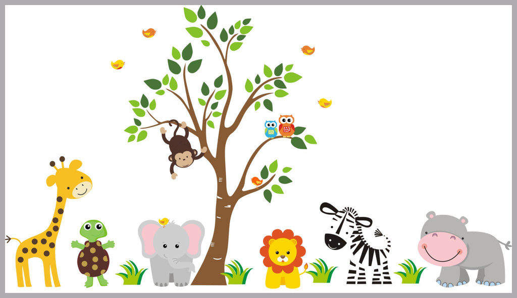 Safari Baby Decals