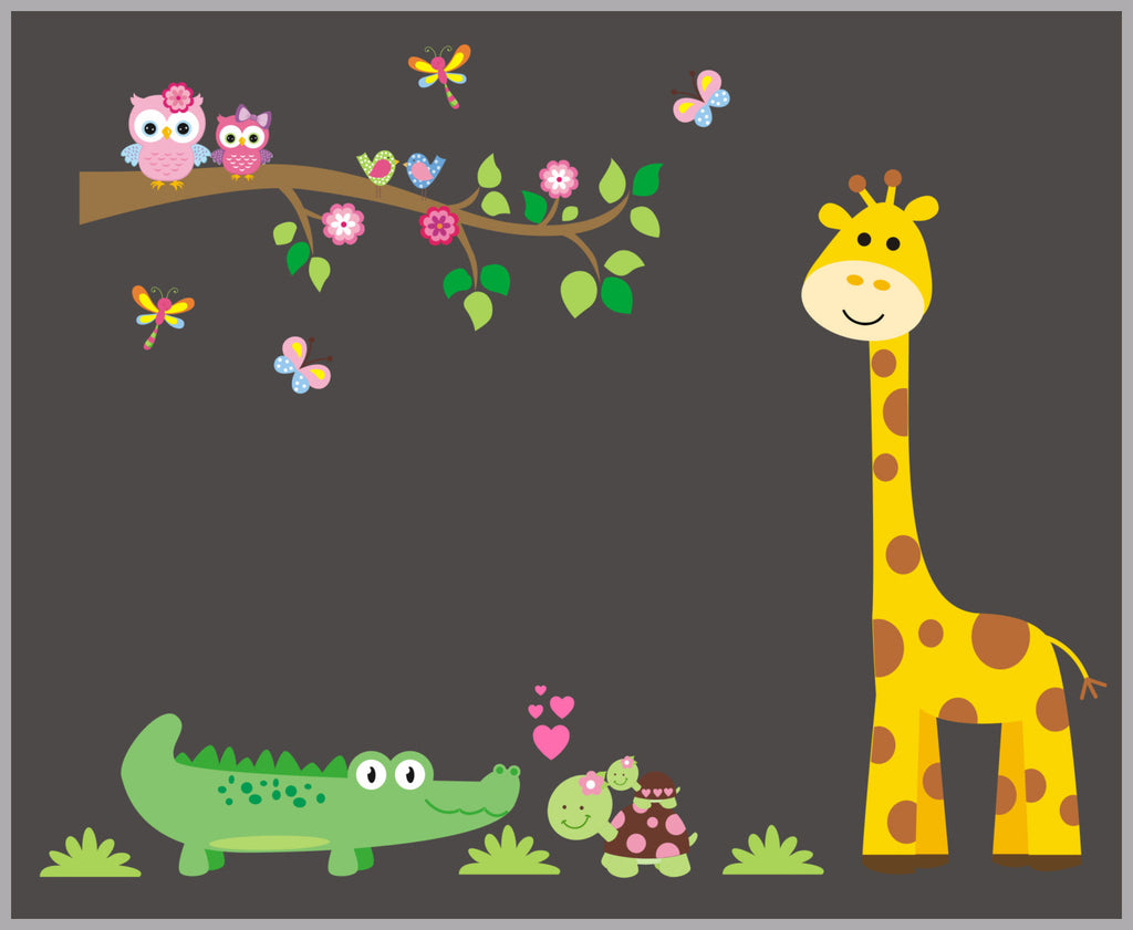 Nursery Theme Animal Prints