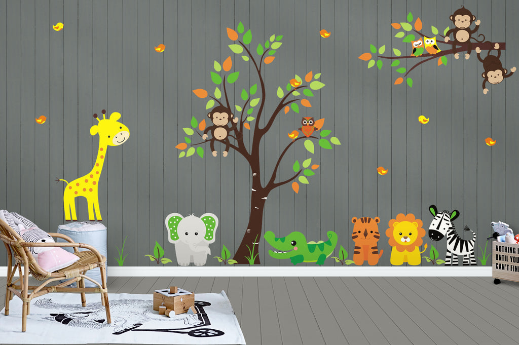 Jungle Animal Decals