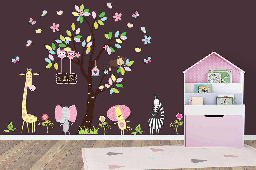 Baby Girls Nursery Decals
