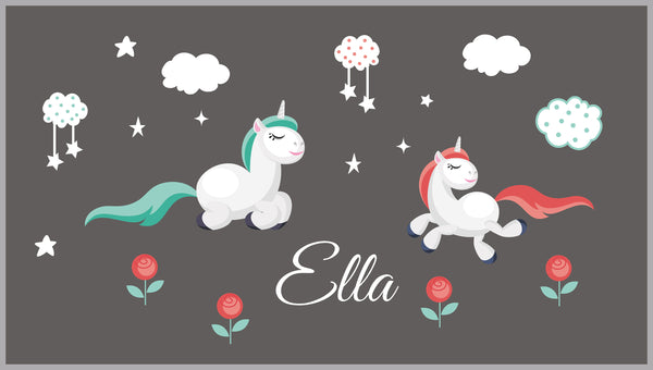 Unicorn Nursery Decals