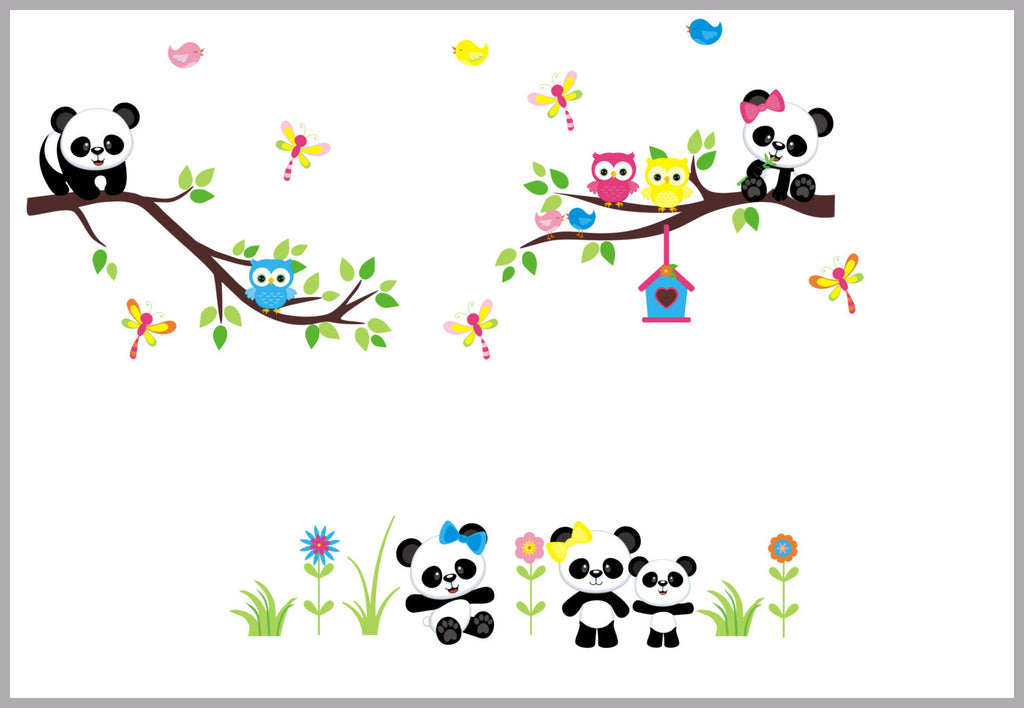 Panda Bear Nursery Theme