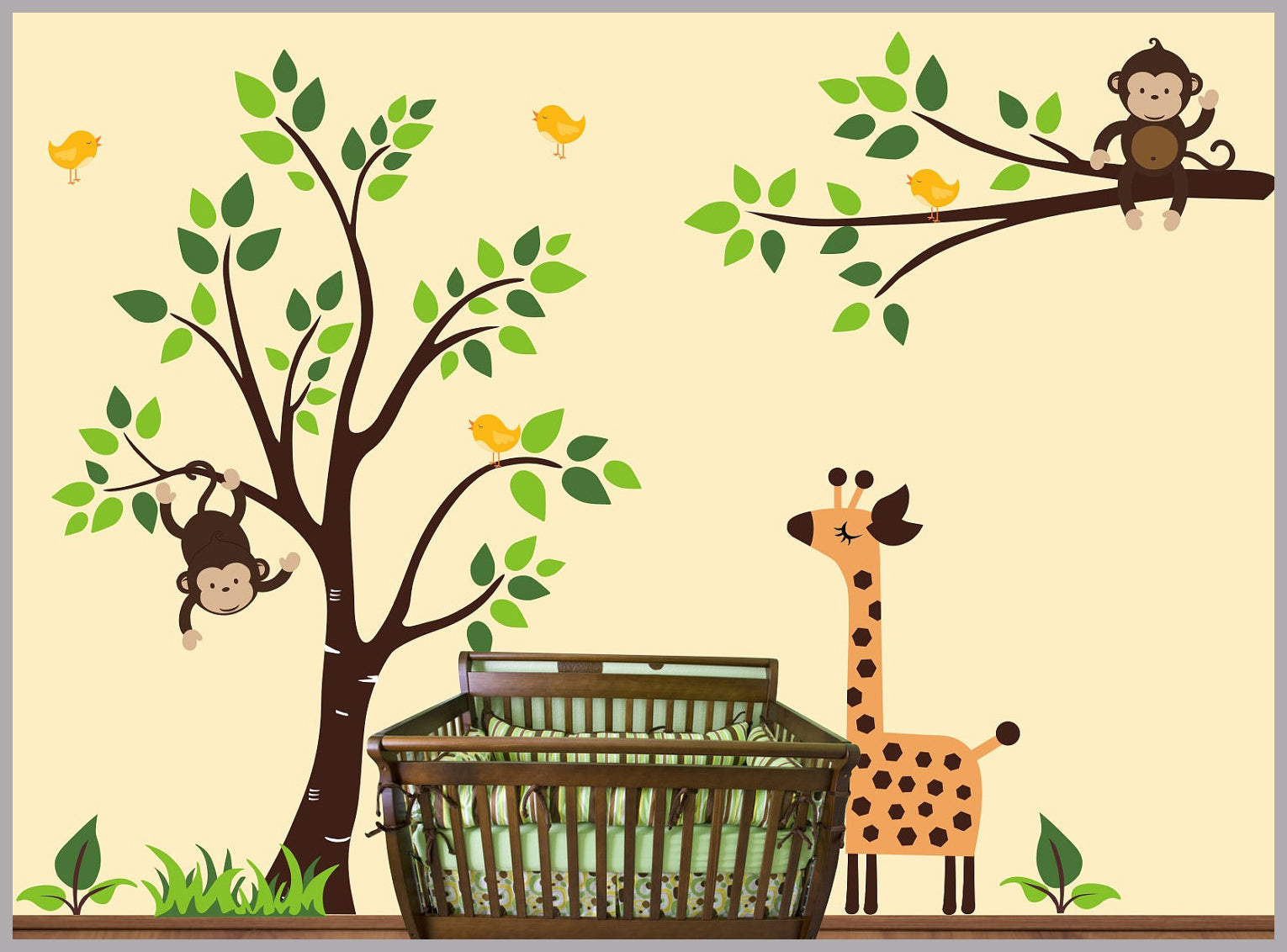 Nursery Print | Nursery Room Decor | Nursery Wall Decals | Baby Room ...