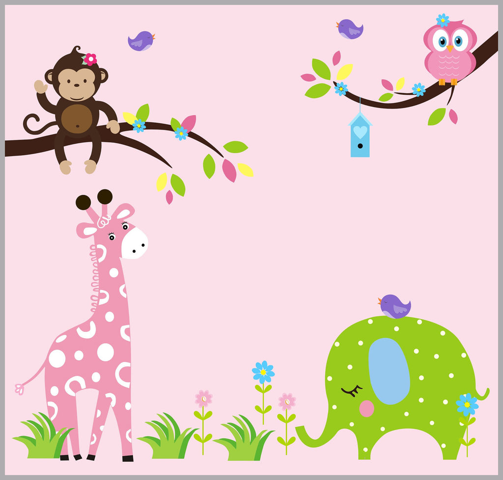 Girls Nursery Decor
