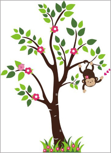 Tall Tree Nursery Sticker Baby