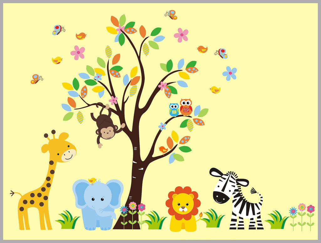 Wall Fabric Kids Decals