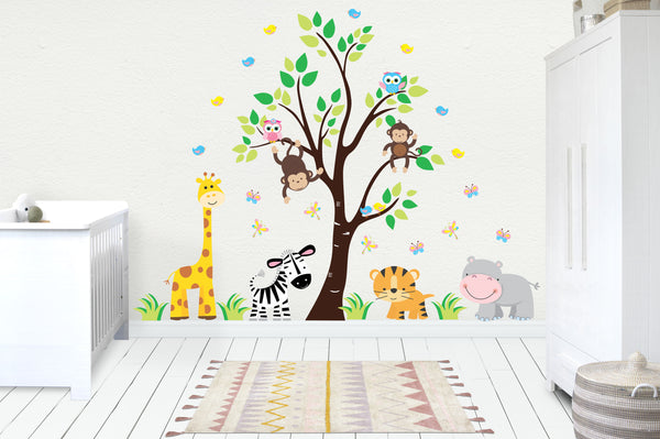Removable and Reusable Nursery Decals