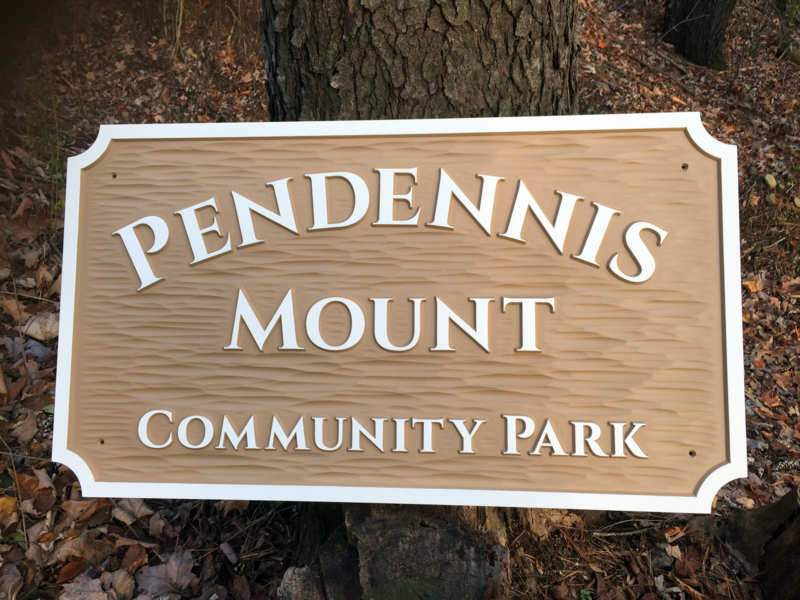 Community Park - Business Signs - Customized (B91) - The Carving Company