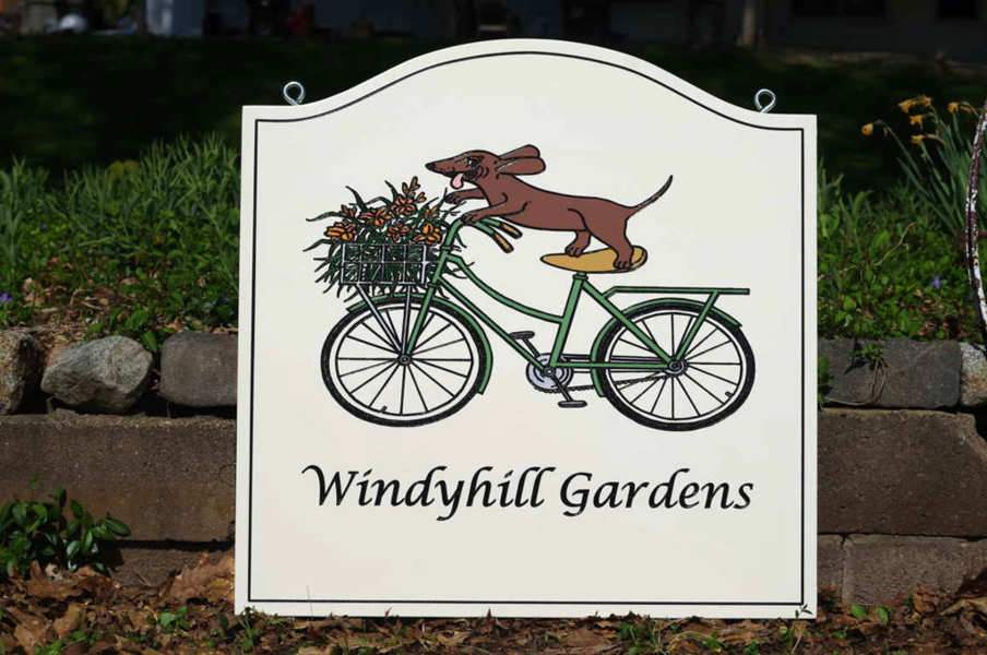 NEW! Professional Business Signs - Hand Painted Sign for Garden Nursery or any Business (B90) - The Carving Company