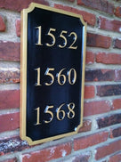 Multiple Numbers for House, Apartments, Condo's, Units etc. (A74) - The Carving Company