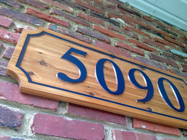5090 cedar house number sign - iso 2