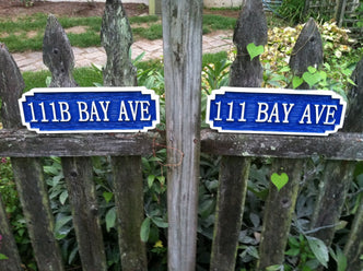 Personalized Street Address Sign (A53) - The Carving Company