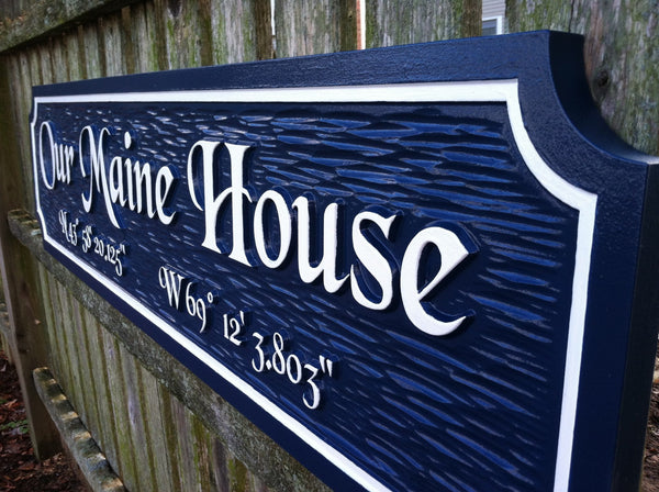 Our Maine house quarterboard -iso2
