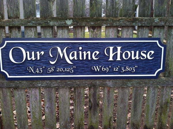 Our Maine house quarterboard -front2