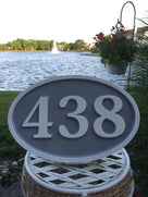 Custom Carved  House number sign - made to order (A80) - The Carving Company