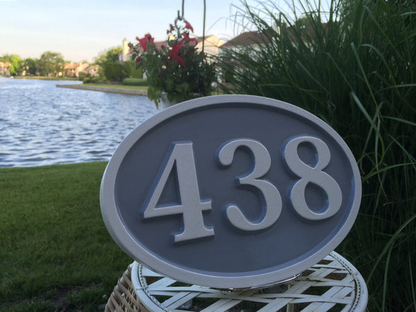 438 house number sign - iso 1
