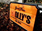 Custom Carved Business Sign - Made to order(B49) - The Carving Company