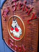 Custom Carved Wood Bar or Pub Sign - Design your Own (BP29) - The Carving Company