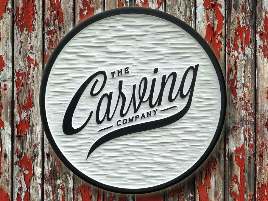 Custom Dimensional Business Signs - Exterior or Interior Display (B10) - The Carving Company