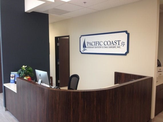 Custom Carved Interior and Exterior Professional Office Sign (B5) - The Carving Company