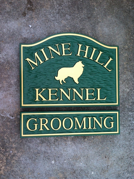 Mine Hilll Kennel and Grooming Sign -front3