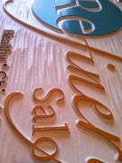 Custom Carved Dimensional Outdoor Business Sign  (B13) - The Carving Company