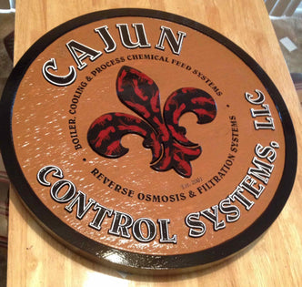 Customized Business Signs - Easy Order Online - Custom Carved Signs (B1) - The Carving Company