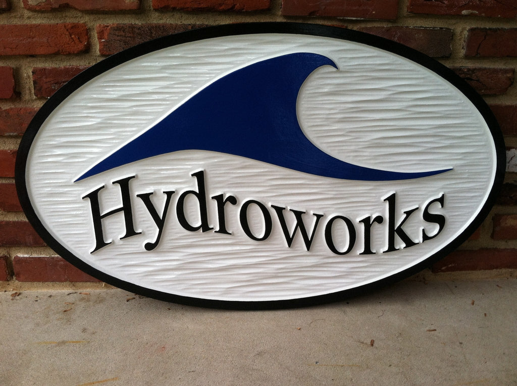 Custom Carved Business Signage - Dimensional Store Front Display (B21) - The Carving Company