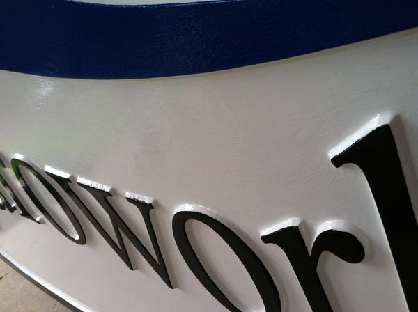 Hydroworks smooth background business sign - iso 3