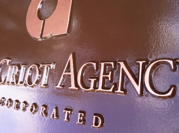 Cirlot Agency custom logo business sign -iso