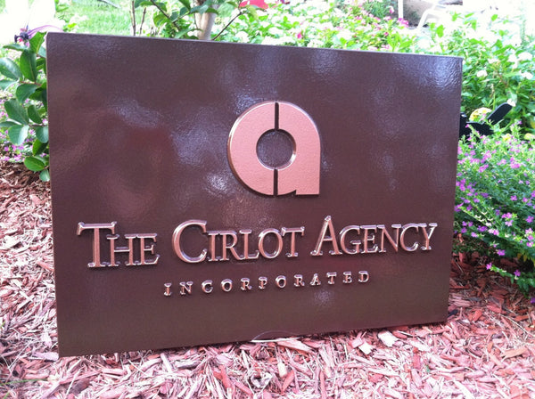 Cirlot Agency custom logo business sign -iso2