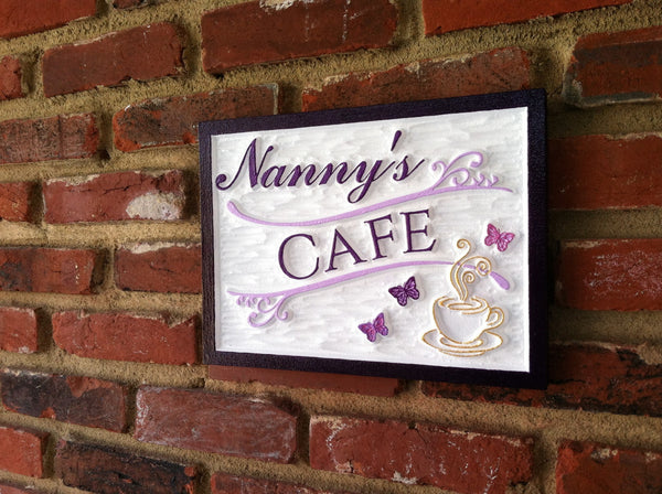 Nancys cafe sign