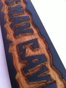 Personalized Carved Dads Man Cave Sign  (MC6) - The Carving Company